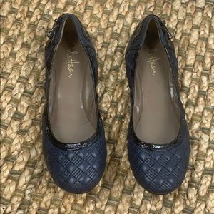 Cole Haan • Leather Quilted Flats Sz 8